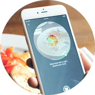 3DAround is the iOS app for food photography in 3D. Dacuda AG Switzerland - Scanning redefined.