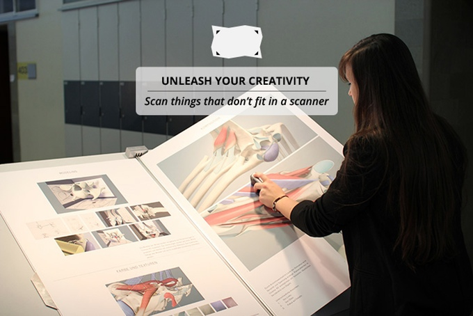 Unleash your Creativity with PocketScan. Scan things that dont fit in a scanner. Dacuda AG Switzerland - Scanning redefined.